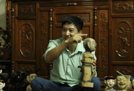 Water Puppet Artist Phan Thanh Liem