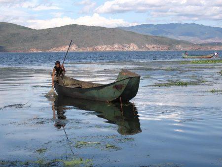 Yunnan-Erhai-lake