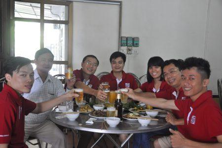 voyage à Thai Nguyen